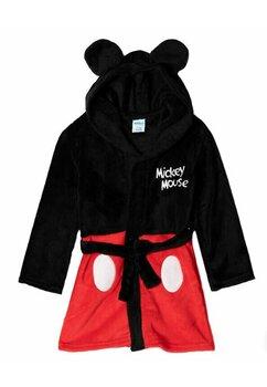 Halat de baie , Mickey Mouse , negru cu rosu