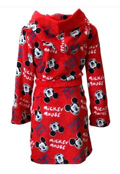 Halat de baie , Mickey Mouse Oh Boy , rosu