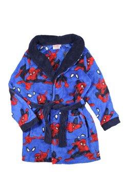 Halat de baie, Spider Man, albastru cu rosu