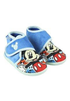 Incaltaminte interior, Mickey, albastru deschis