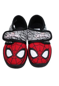 Incaltaminte interior, Spider-man, rosu cu negru