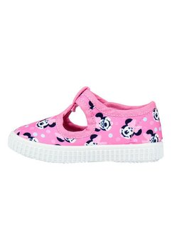 Incaltaminte panza, roz cu buline, Minnie Mouse