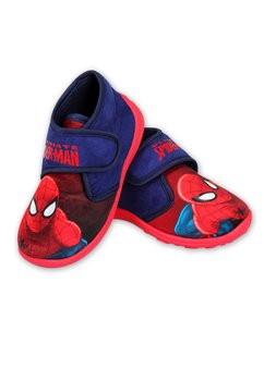 Incaltaminte panza, Ultimate Spider-Man, rosu cu bluemarin