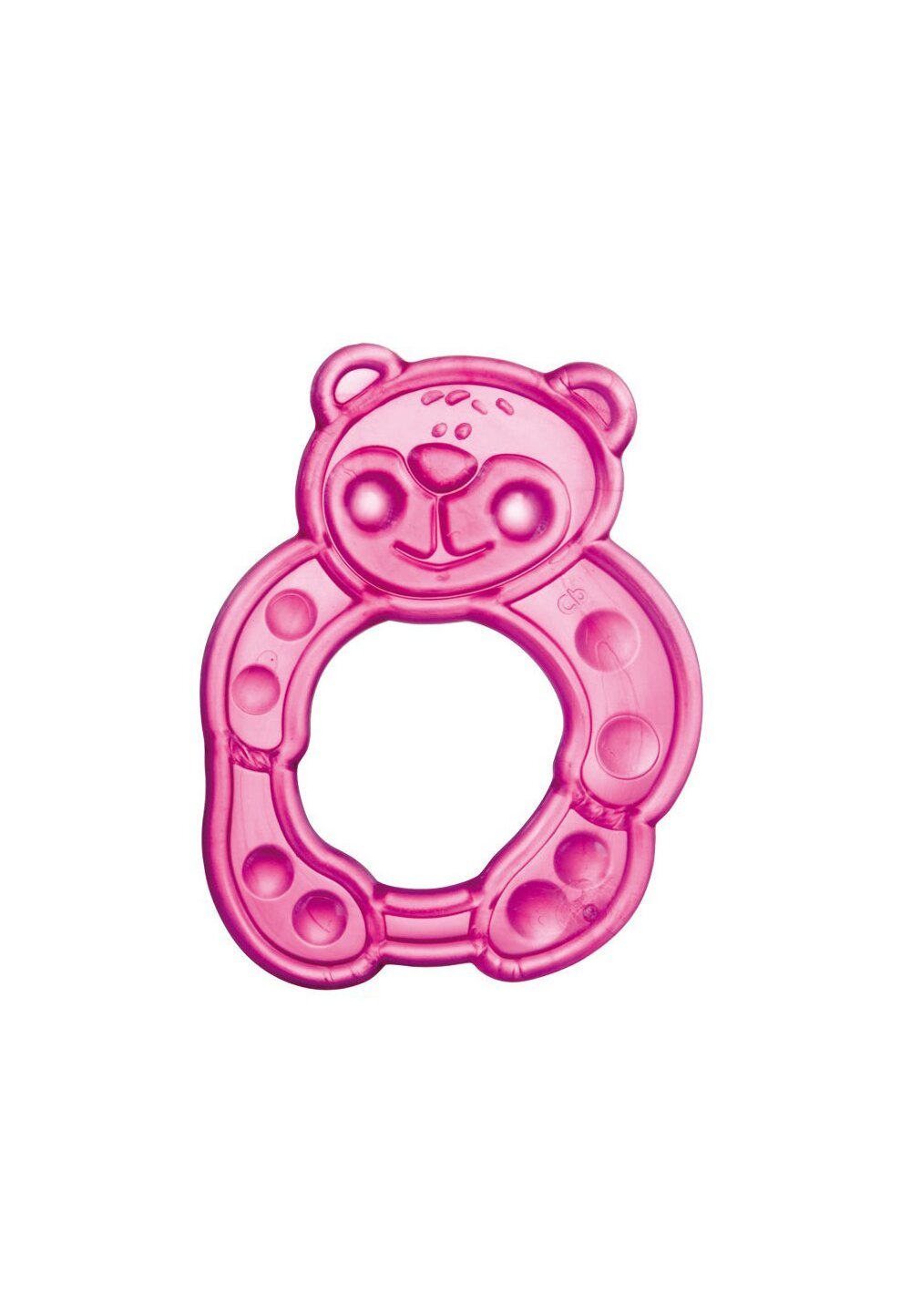 Inel gingival soft, ursulet roz imagine