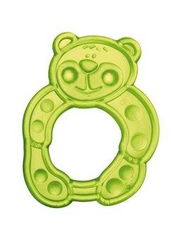 Inel gingival soft, ursulet, verde