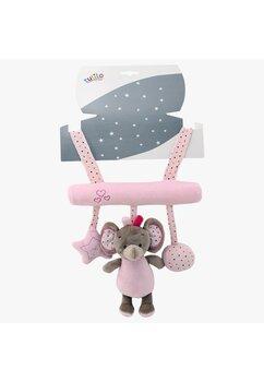 Jucarie carucior, elefantel roz