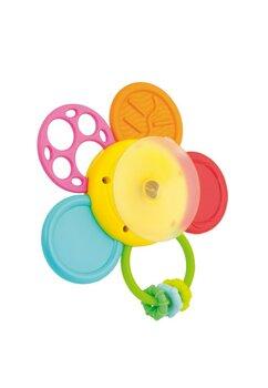 Jucarie cu ventuza, floricica colorata