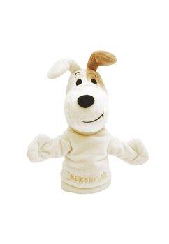 Jucarie de mana, Mascota Dog, crem