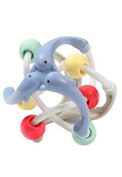 Jucarie educativa, albastra cu cerculete