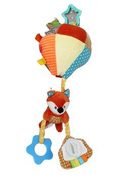Jucarie pentru carucior, vulpita cu balon