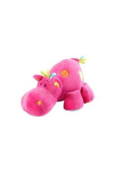 Jucarie plus, hipopotam, roz