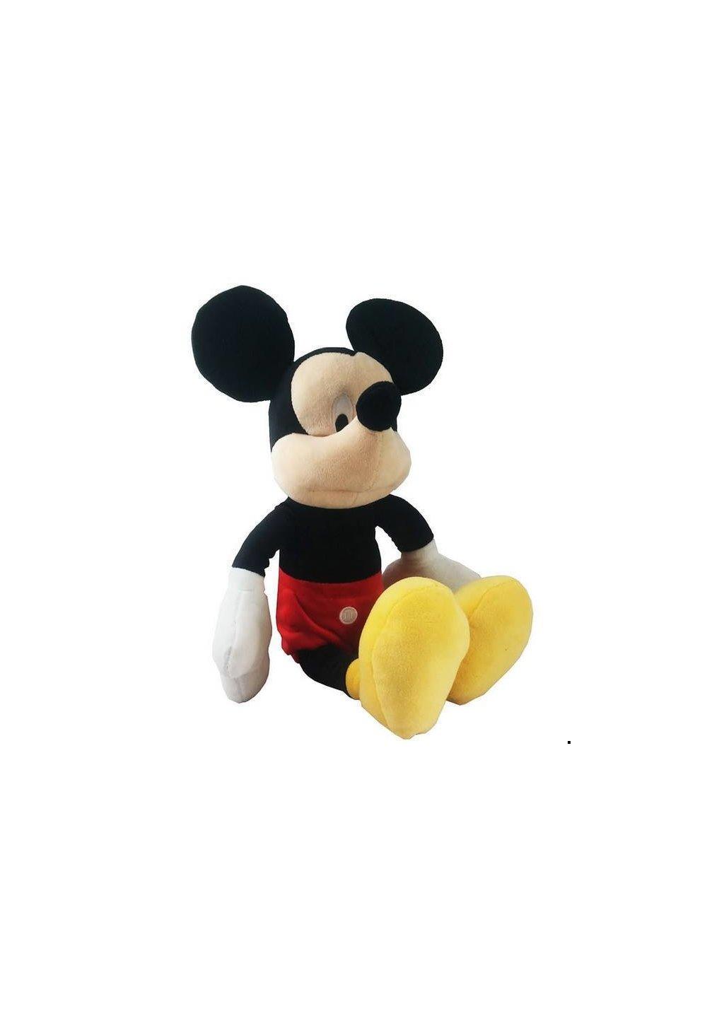 Jucarie plus Mickey Mouse cu pantaloni rosii
