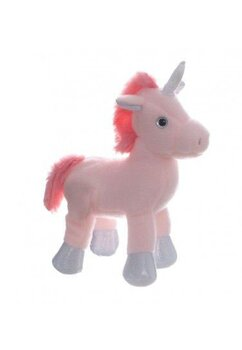 Jucarie plus, Unicorn, roz cu argintiu
