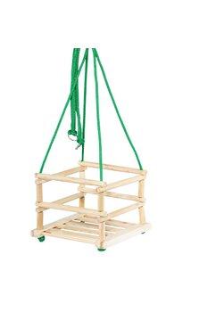Leagan pentru copii din lemn, HDR