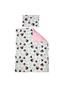 Lenjerie 2 piese, Prichindel, Minnie, roz, 120x60cm