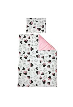 Lenjerie 3 piese, Prichindel, Minnie, roz, 120x60cm