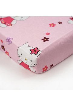 Lenjerie 5 piese kitty roz,140 x 70 cm