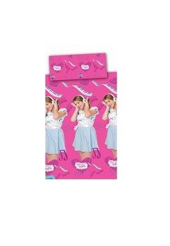 Lenjerie de pat 140x200 cm, Violetta, roz