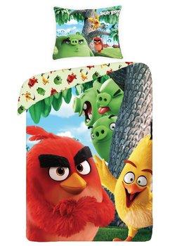 Lenjerie de pat Angry Birds, verde,  140x200cm