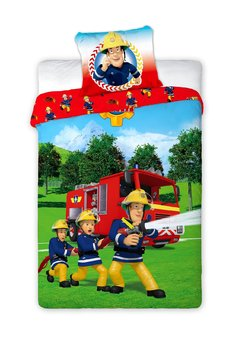 Lenjerie de pat, Fireman Sam, 140 x 200 cm