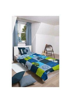 Lenjerie de pat, Fortnite, albastra, 140x200cm