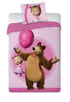 Lenjerie de pat, Masha cu balon steluta 160 x 200 cm