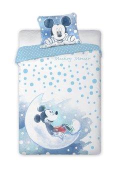 Lenjerie de pat, Mickey pe luna, 100 x 135 cm