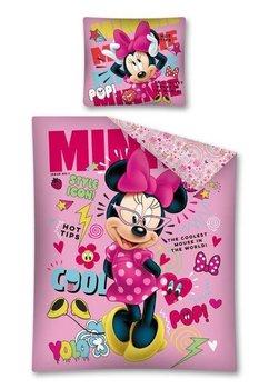 Lenjerie de pat, Minnie Mouse, style icon, roz 160 x 200 cm