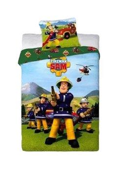 Lenjerie de pat, Pompierul Sam, 160 x 200 cm