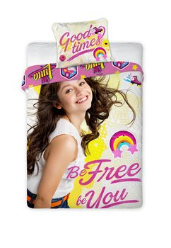 Lenjerie de pat, Soy Luna, be free be you, 160x200cm