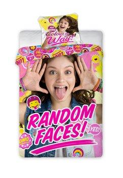 Lenjerie de pat, Soy Luna, random faces, 160x200cm