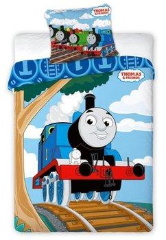 Lenjerie de pat. Thomas, albastra, 100x135cm