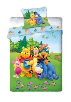 Lenjerie de pat, Winnie, Tiger si Aiurel, 160x200cm