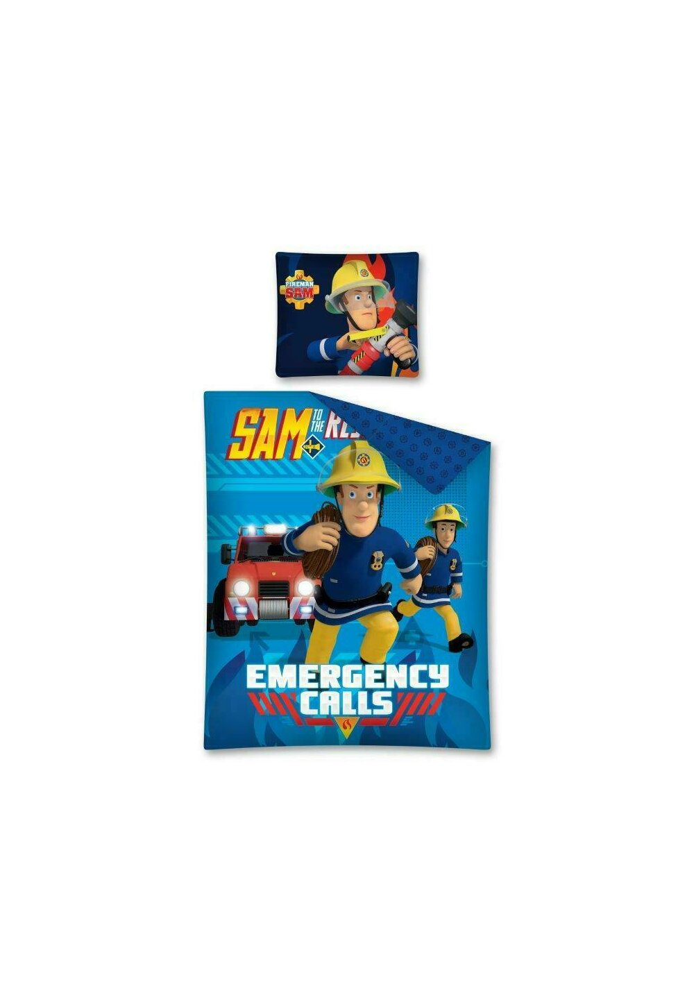 Lenjerie pat, Emergency Calls, Sam, 160x200 cm imagine