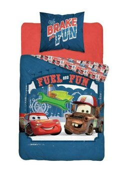 Lenjerie pat, Fuel and Fun, Cars, 160x200 cm