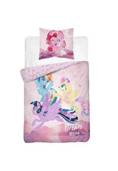 Lenjerie pat, Pony, Dream More, roz , 160x200 cm