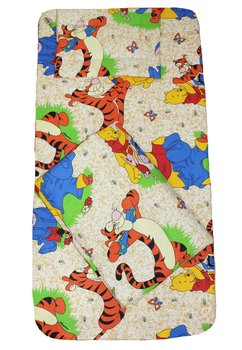 Lenjerie patut, 3 piese, Winnie si Aiurel, crem,120 x 60 cm