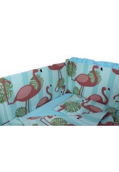Lenjerie patut, Flamingo 5 piese, 120x60 cm