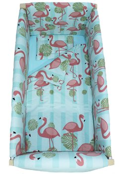 Lenjerie patut, Flamingo, 7 piese, 120x60 cm