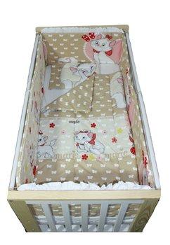 Lenjerie patut, Marie, 5 piese, 120x60 cm