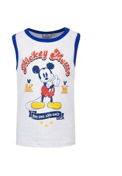 Maieu, Mickey Mouse, alb cu albastru