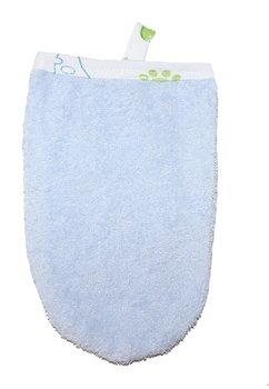 Manusa albastra de baie