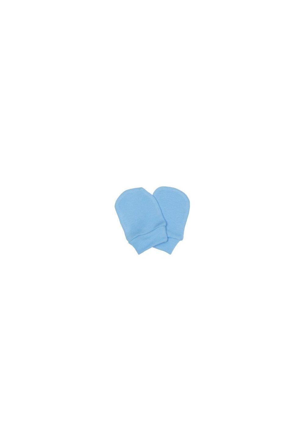 Manusi bebe, albastre, 0-1luni imagine