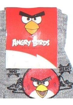 Manusi cu degete, Angry Birds, 3-7ani, gri