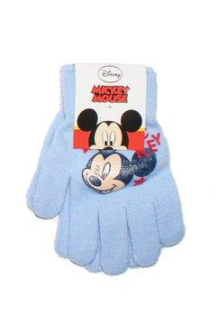 Manusi Mickey Mouse, albastru deschis, 3-7ani