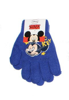 Manusi Mickey Mouse, albastru inchis, 3-7ani