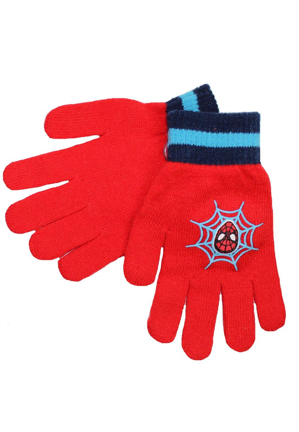Manusi, Spider-man, rosu cu albastru imagine