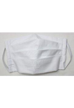Masca Bumbac,set 3 buc,cu buzunar, alb, plata cu CARD