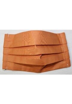 Masca Bumbac,set 3 buc,cu buzunar, portocaliu, plata cu CARD