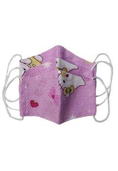 Masca reutilizabila, set 3 buc, fete, 2-6 ani, Hello Kitty
